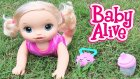Baby Alive Emekleyen Bebeğim Oyuncak Bebek Bye Bye Baby Crawling Doll