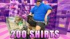 Komedyen Marketten 200 Tshirt Üst Üste Giyerek Alışveriş Yapmaya Çalışırsa