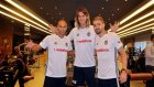 Beşiktaş Yeni Transferlerine Kavuştu