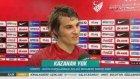 """Çağlar Söyüncü'den Rusya maçı sonrası gaf: """"Puan ile başlamak güzel"""""""