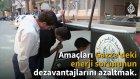 Gazzeli Ogrencilerden Gunes Enerjisi İle Calısan Arac