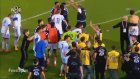 Türkiye U21 Takımı ile Kıbrıs Rum Kesimi U21 Takımı Birbirine Girdi