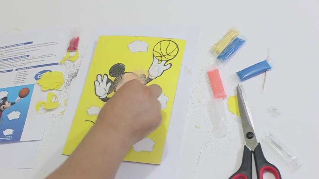 Diy Mickey Mouse Kum Boyama Nasıl Yapılır Izlesenecom