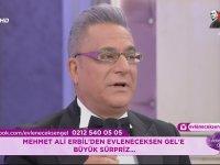 Mehmet Ali Erbil'in İzdivaç Programına Katılması