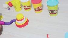 Play Doh Oyun Hamuru ile Doğum Günü Pastası Yapımı