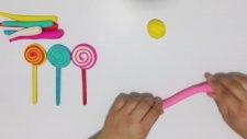 Play Doh Oyun Hamuru ile Dondurma Yapımı Rengarenk