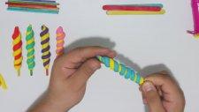Play Doh Oyun Hamuru ile Lolipop Yapımı