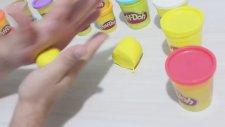 Play Doh Oyun Hamuru ile Pizza Yapımı