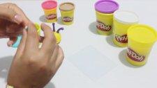 Play Doh Oyun Hamuru ile Salyangoz Yapımı