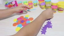 Play Doh Oyun Hamuru ile Şekiller Yapımı