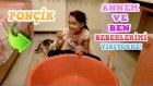 Vlog - Kedimiz Ponçik Ve Annem İle Ben Odamda Bebeklerimizi Yıkıyoruz