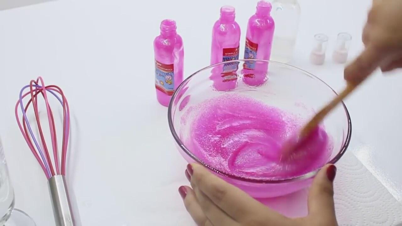 Zıp Zıp Oyun Tutkalsız Borakslı Slime Yapımı Pırıltılı Slime