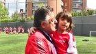 Arsenal Futbol Okulu, Vural ve Toraman'la buluştu
