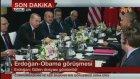 Cumhurbaşkanı Erdoğan İle Obama Bir Araya Geldi
