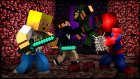 Green Arrow Herkesi Tokatladı! - Smash Heroes - Minecraft Kahraman Savaşı