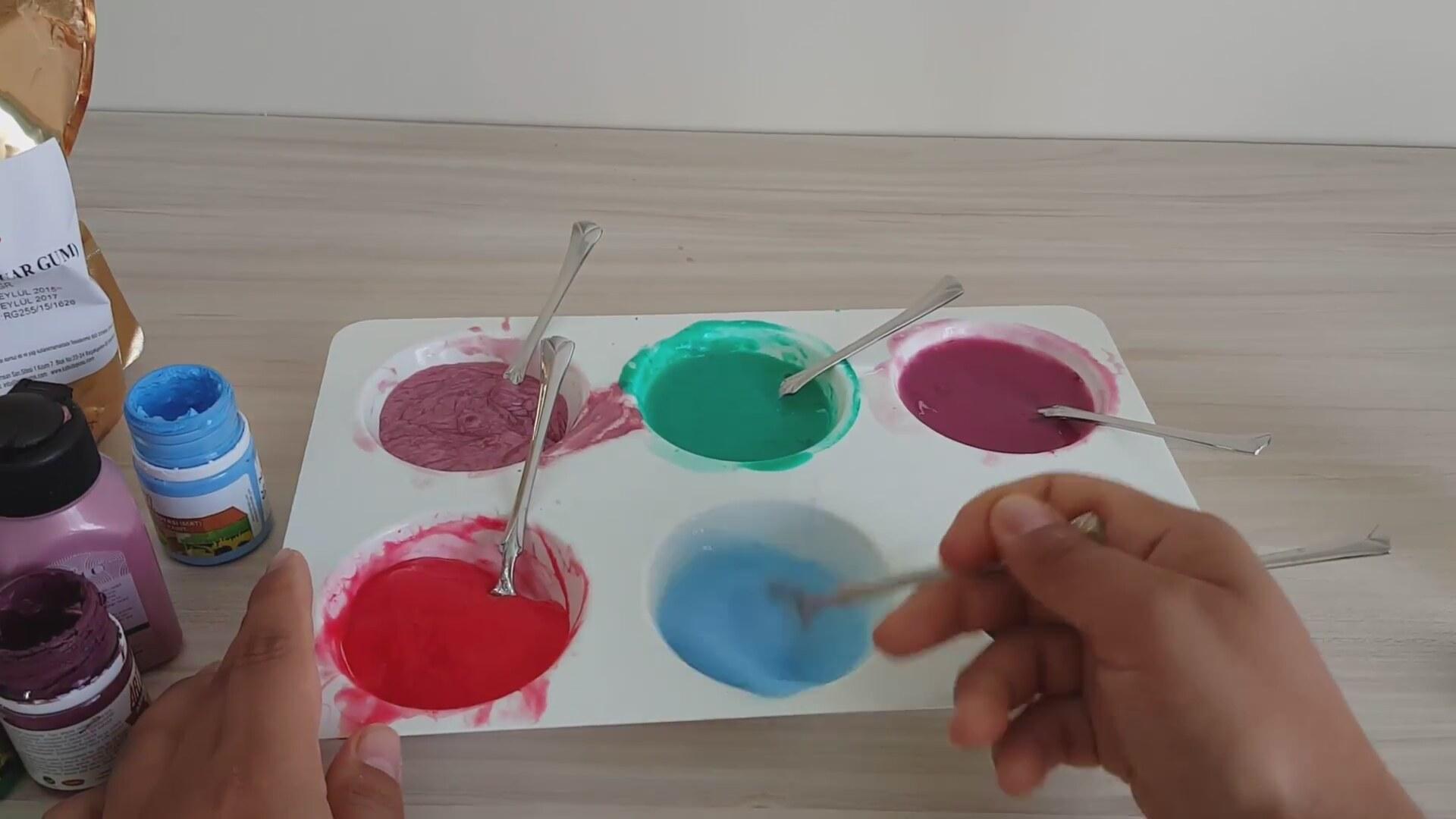 Tutkalsız Slime 6 Farklı Renk Ile Slime Izlesenecom