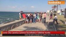 İzmir Ölü Caretta Caretta Güzelbahçe Sahiline Vurdu