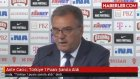 Ante Cacic: Türkiye 1 Puanı Şansla Aldı