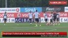 Beşiktaşlı Futbolcular İçlerine GPS Teknolojili Yelekler Giydi