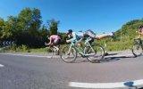 Bisiklet Yarışında Rüzgar Kesme Taktiği Karaman Motorcularının Taktiği