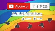 11 MİLYON ABONE!!