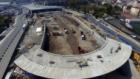 Avrasya Tüneli'nde Son Durum Havadan Görüntülendi