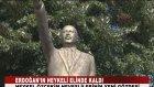 Erdoğan'ın Heykeli Elinde Kaldı