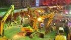 116 İş Makinesiyle Bir Gecede Çin'de Yıkılan 24 Yıllık Köprü