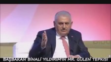 Binali Yıldırım'ın Mister Gülen Tepkisi