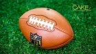 Gerçekçi Amerikan Futbol Topu Pastası Yapımı