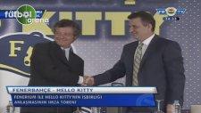 Fenerbahçe, Hello Kitty ile sponsorluk anlaşması imzaladı