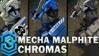 Mecha Malphite Chroma Skins