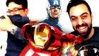 Süper Kahramanlarla Cezali Komedi Royal Rumble | Wwe 2k16