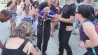 Av Köpeğine Saldırıp Hem Köpeği Hem de Sahibini Yaralayan Vahşi Pitbull