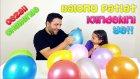Balonu Patlat İçindekini Ye! Sürpriz Dolu Balon Patlatma Challenge