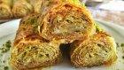 Fıstıklı Sarma Baklava (Baklava Yufkası İle Çok Pratik) | Ayşenur Altan Yemek Tarifleri