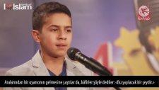 Ses Yarışmasına Katılan Çocuktan Harika Kur'an Tilaveti
