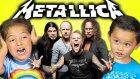 Çocukların Metallicaya Verdiği Şaşkın Tepkiler