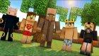 Bizim Ekipten Bir Tek Ben Sıralamaya Girdim ! - Minecraft Evi