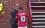 Guardiola ile Rooney'in Top Kavgası