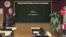 İngilizce Nereli Olduğunu  Sorma Ve Cevaplama #7