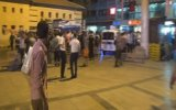 Bayram Alışverişinde Sinirlenen Şahısın Canlı Bombayım Diye Bağırması