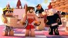 40 Kişilik Efsane Haritada Oynuyoruz ! Minecraft Evi