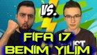 Fifa 17 Türkçe | Uzakdan Efsane Goller | 2 Kişi Kapışma