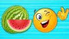 Pazara Gidelim Bir Karpuz Alalım - Meyveleri Öğreten Şarkı