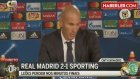Şampiyonlar Ligi Maçında Real Madrid, Sporting Lisbon'u 2-1 Yendi