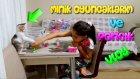VLOG - Anneme Minik Oyuncaklarımı Gösterdim Ve Kedimiz Ponçik İle Oynadık