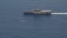 Görünmez Savaş Gemisi USS Jackson'a Akılalmaz Test