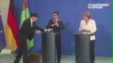 Türkmenistan Lideri Merkel'in Ağzını Açık Bıraktı