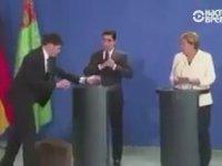 Türkmenistan Liderinin Merkel'in Ağzını Açık Bırakması